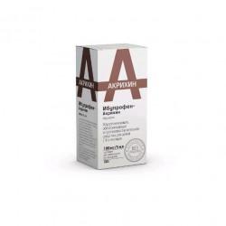 Ибупрофен-Акрихин, сусп. д/приема внутрь 100 мг|5 мл 100 г №1 апельсиновая